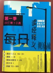 Chinese Daily Bread (Simplified)