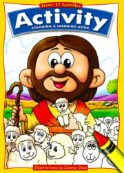 Jesus' 12 Apostles - Activity Coloring & Learning Book